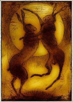 Ian MacCulloch - Boxing Hares