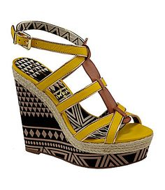 Jessica Simpson Ginny Platform Wedges #Dillards