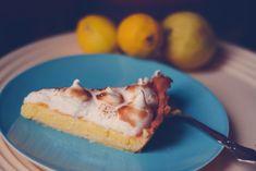 citrontærte3 Meringue, Food Pictures, Quiche, Brunch, Yummy Food, Favorite Recipes, Sweets, Bread, Snacks