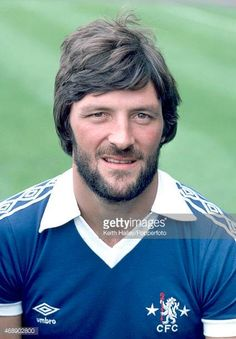 Mickey Droy of Chelsea circa August 1979 Chelsea Football Team, Chelsea Fc Players, Chelsea Fans, London Football, Stock Pictures, Stock Photos, Chelsea London, Creative Video, Football Shirts
