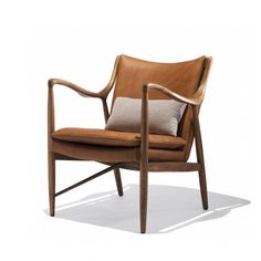 Currently out of stock. but color of leather and vibe and lines are all good. Olsen Chair