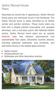 Gothic Revival Home Characteristics And Design Homes With Lots Of Character