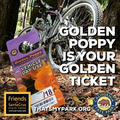 If you purchase your State Parks pass through our website, a significant portion of the proceeds stays local to support parks and beaches in Santa Cruz County and coastal San Mateo County. Buy yours today at www.thatsmypark.org #parkpasses #shoponline #castateparks #goldenpoppypass #californiaexplorerpass #visitparks #supportparks #thatsmypark