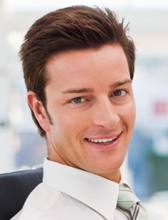 Men's Shorter Hairstyles - More Super Stylish Shorter Hairstyles for Men: Off the Face