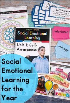 This is a complete social emotional learning curriculum for the entire year! Great for upper elementary or middle school to help kids learn skills for self-awareness, understanding emotions, social skills, relationships, self-management, decision-making, and more. It is filled with classroom lessons, worksheets, crafts, art, centers, and more for teens to learn SEL skills. #sel #pathway2success #socialemotionallearning Activities For Teens, Therapy Activities, Social Emotional Learning, Social Skills, Understanding Emotions, Art Centers, Social Awareness, Special Education Classroom, Study Skills