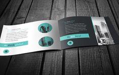 RW Neo Business Brochure by Tugrul Ozmen, via Behance