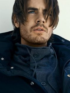 I don't even know who this beautiful man is! But he's beautiful!