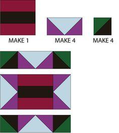 How to Make an Album Star Block Quilt: Assemble the Album Star Quilt Block