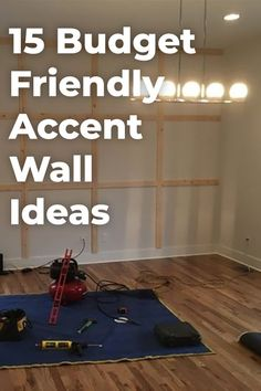 Creating an accent wall is an affordable way to completely transform any room with more than just paint color. Check out fifteen inspiring accent wall ideas! Wall ideas Budget-friendly Accent Wall Ideas To Transform Any Room Accent Walls In Living Room, Accent Wall Bedroom, Master Bedroom, All White Room, Accent Wall Colors, Diy Wood Wall, Diy Home Decor On A Budget, Do It Yourself Home, Freundlich