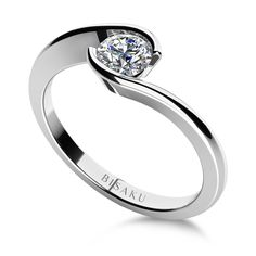 Zásnubní prsten, model č. C6