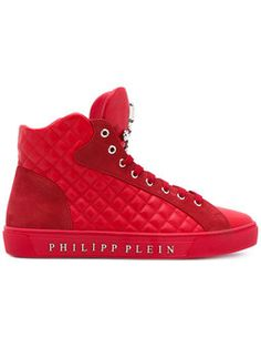 6939aadd1c4  California  hi-top sneakers Red High Top Sneakers