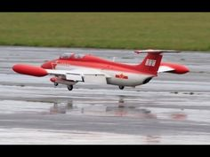 ALI MACHINCHY FLYING THE RC AIR-C-RACE L-29 DELFIN JET AT CLASSIC JETS A...