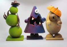 Chocolate monsters from Kate Weiser Chocolates