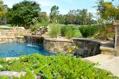 Chenal Project - Pool - Little Rock - Parrot Bay Pools & Spas