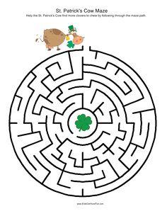 Day - Brain Games on Pinterest | St. Patrick's Day, St Patrick's Day ...