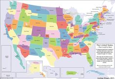 The 124 States of America: What the USA would look like if all the secessionist movements had been successful