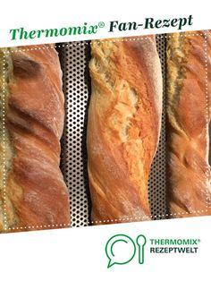 Schnelle Dinkelbaguette von wackeldackel14. Ein Thermomix ® Rezept aus der Kategorie Brot & Brötchen auf www.rezeptwelt.de, der Thermomix ® Community.