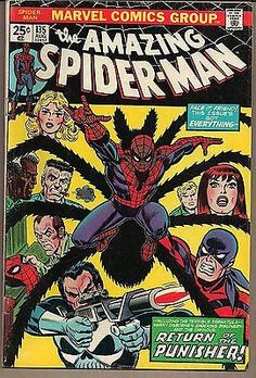 #Amazing spider-man #135 #marvel 08/74 #tarantula & punisher 2nd full appearnce v, View more on the LINK: http://www.zeppy.io/product/gb/2/221939823498/
