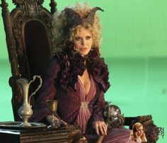 Maleficient played by Kristin Bauer on Once Upon a Time