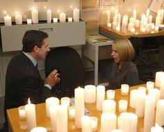 Michael and Holly (Steve Carell and Amy Ryan), The Office - TV Guide's Fave TV Proposals; definitely perfect for each other