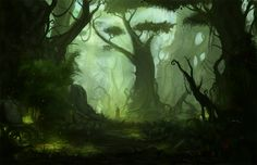amazing virtual landscapes found on Deviantart