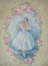 """The Ballerina"" Limited Ed Canvas Giclee Print"