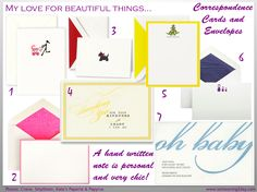 Top 5 Papelarias (Kate's Paperie + Papyrus + Crane & Co + The Ink Pad + Smythson)