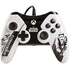 Product Info The officially licensed Star Wars: The Force Awakens wired controllers for Xbox 360 feature all new imagery from Episode 7 the latest in the Star Wars saga. Choose First Order with Stormt Star War 3, One Star, Video Games Xbox, Xbox Games, Xbox 360 Controller, Star Wars Kylo Ren, Geek Games, Black Friday Deals, Star Wars Episodes