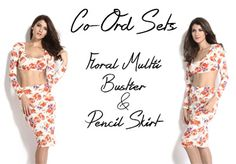 Look twice as nice in a two piece from our co-ord collection! Matching sets make choosing an outfit stress-free, while mix and match separates take the trend to a DIY level, so you can put your own spin on co-ordinate dressing. Shop this look on http://www.dress4less.co.in/co---ord-sets