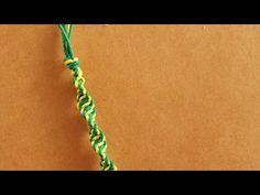 Espirales de colores / Pulsera de macramé ♥ - YouTube