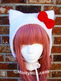 Minty Mix #Hellokitty #Hat #Cute