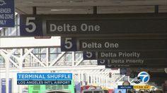 Major LAX airline terminal shift underway
