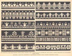 Folk Embroidery, April 1st, Pattern Designs, My Heritage, Caligraphy, Stitch Design, Hungary, Folk Art, Ornament