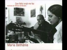 Maria Bethânia • QUE FALTA VOCÊ ME FAZ (album completo) - YouTube