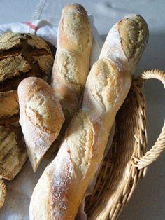 smaki i aromaty: Piątkowa domowa piekarnia, czyli pieczenie chleba na weekend. Bread Recipes, Fries, Baking, Baskets, Food, Bakken, Hampers, Essen, Backen