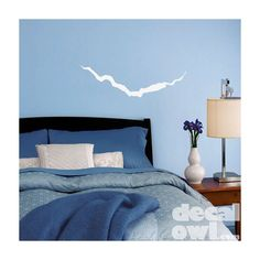 Doctor Who Decal - Cracks in the Universe, Wall ($15) found on Polyvore