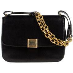 GOLDEN GOOSE Medium leather bag ($1,790) ❤ liked on Polyvore