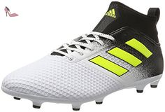 Ace 17.4 TF, Chaussures de Football Entrainement Homme, Blanc (Footwear White/Solar Yellow/Core Black), 40 EUadidas