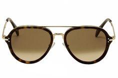 b8f1bcb04c37b Sunglasses Celine 41374 S 0ANT Dark Havana Gold   9J gray polarized lens at  Amazon