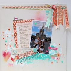 Memories - Cocoa Daisy Dec Kit by Funky Fairy @2peasinabucket