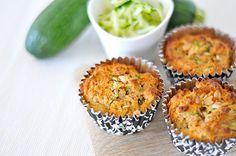 Gemüse mal anders :-)! Süße Zucchini-Muffins glutenfrei eifrei histaminarm / gluten free egg free dairy free sugar free