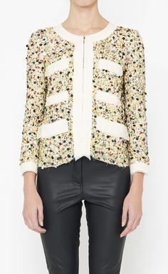 3.1 Phillip Lim Gold, Yellow And Multicolor Jacket