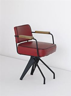 jean prouvé office chair, 1950
