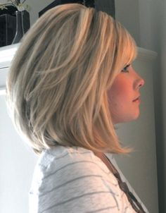 I love this haircut.  I am not sure it would look good on me though.  I wish it would.