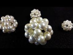 Hermoso y Elegante Collar de Perlas....Clase #22!!! - YouTube