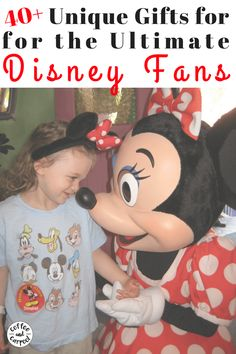 Find the perfect gift for kids and adults who love Disney World, Disneyland, or Disney characters. This is the ultimate list of 40 different gift ideas for kids and adults who love Disney World and Disneyland. The top Christmas gifts of 2020! A top gift guide for those who love Disney characters. #disney #disneylovers #disneygifts #disneylandgifts #holidaygifts #holidaygiftsforkids
