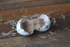 DIY Adorable Easter Egg Messages - Free People Blog
