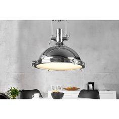 Moderne hanglamp Industrial chroom 45cm - 22856