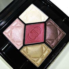 Dior Trafalgar 5 Couleurs Eyeshadow Palette Swatches, Review + Looks via @blushingnoir