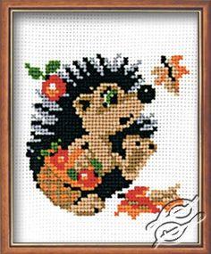 Hedgehog - Cross Stitch Kits by RIOLIS - 403